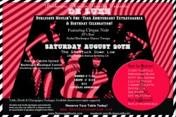 Flyers: Burlesque Moulin