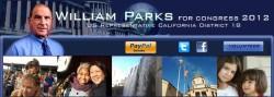 Logos: William Parks for Congress