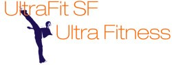Logos: ultra fit sf personal training