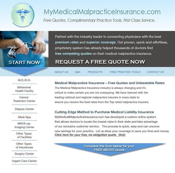 My Medical Malpractice Insurance.com
